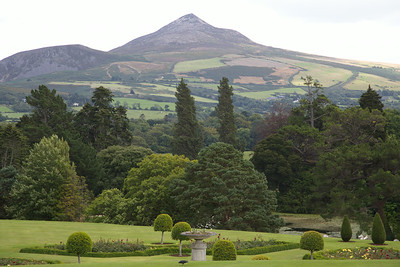 Powerscourt Gardens, County Wicklow.