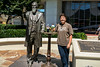 Having a Diet Coke with Dr. John Pemberton, the inventor of Coca-Cola.<br /> Wednesday, August 13, 2014