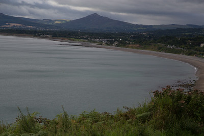 Killiney Bay, South of Dublin.
