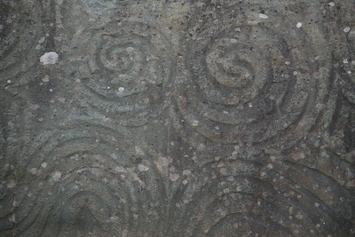 Newgrange, County Meath. A Druid tomb older than the Pyramids. They do not know what these symbols mean.