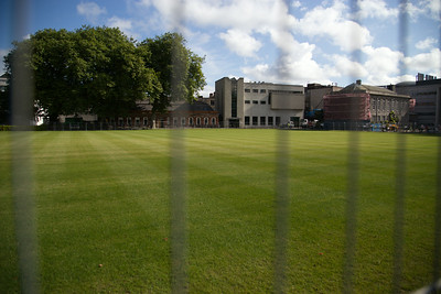 Trinity College in Dublin rugby pitch where I played in 1977.