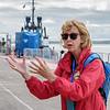 Our Cobh tour guide.