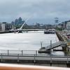 Harp Bridge, Dublin, Ireland