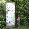 Pieces of Berlin Wall at Lismore Castle Gardens