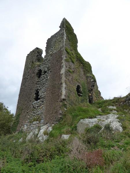 Dunhill Castle Ruins