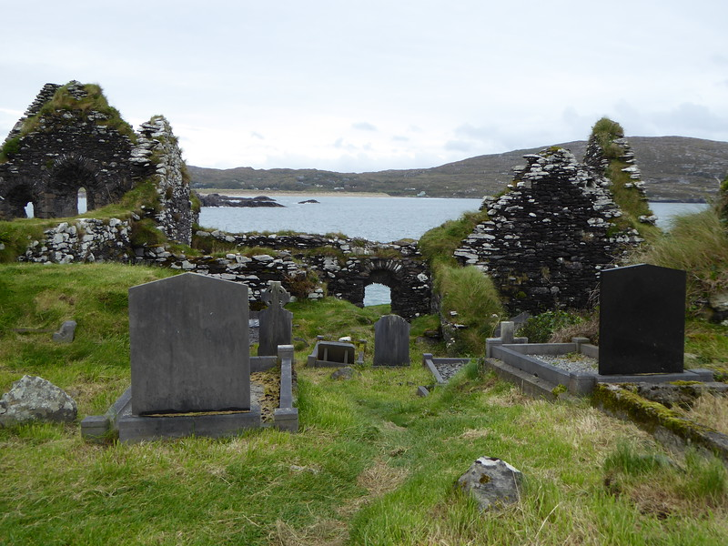Abbey Island Graveyard, Ring of Kerry