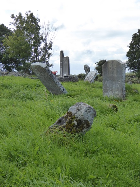 Graveyard at Kilmacduagh Monastic Site