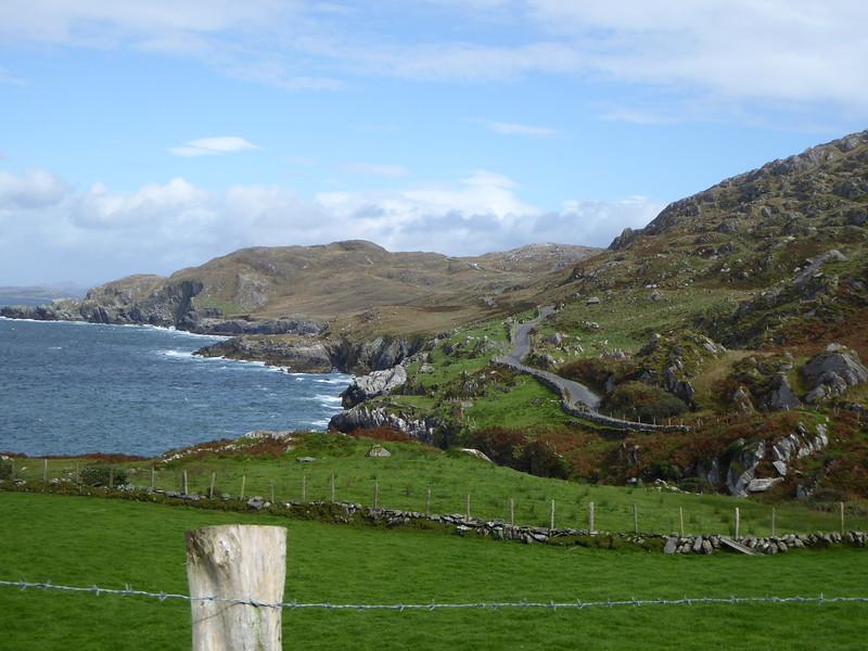 View along northern shore of Ring of Beara