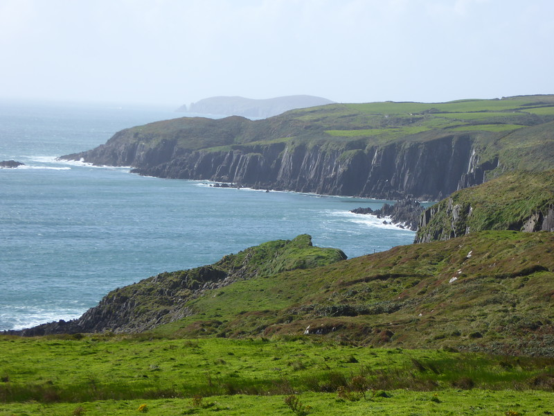 View along northern shore of Ring of Beara
