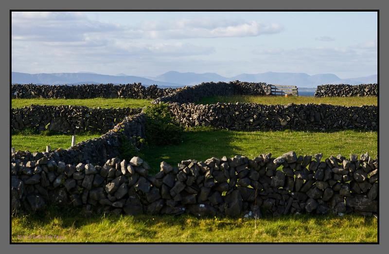 Walled fields - Aran Islands
