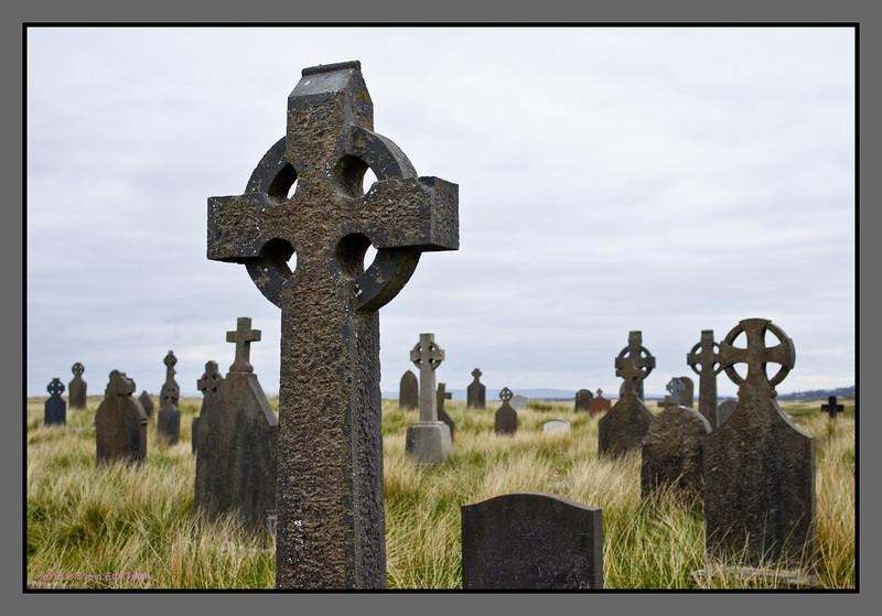 High cross I <br /> Cemetary, Killeany