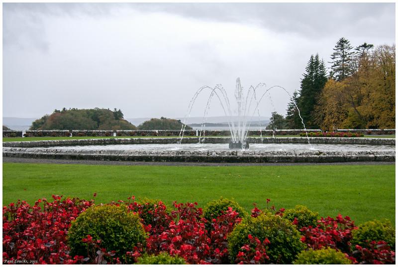 Ashford Castle's grand garden