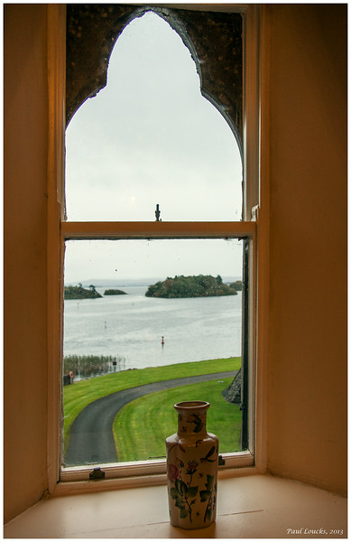 Window view of the lough
