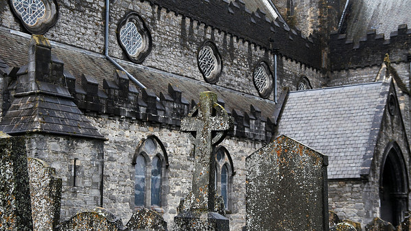 Saint Canice's Cathedral in Kilkenny, built in the 13th century.
