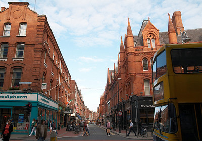 Dublin's brick buildings.