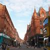 Dublin's brick buildings.