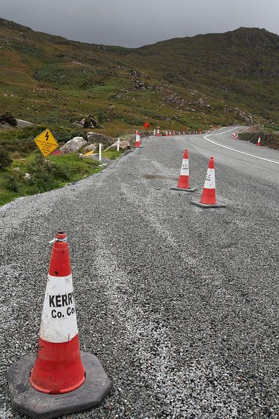 Lonely street in County Kerry.