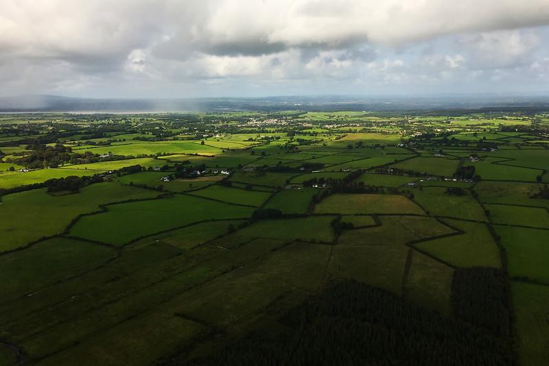 Landing at Shannon, Ireland