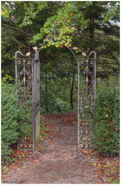 Gateway to the Poison Garden at Blarney Castle