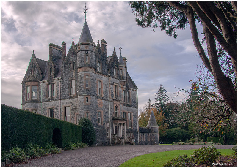 Another view of Blarney House and the grounds