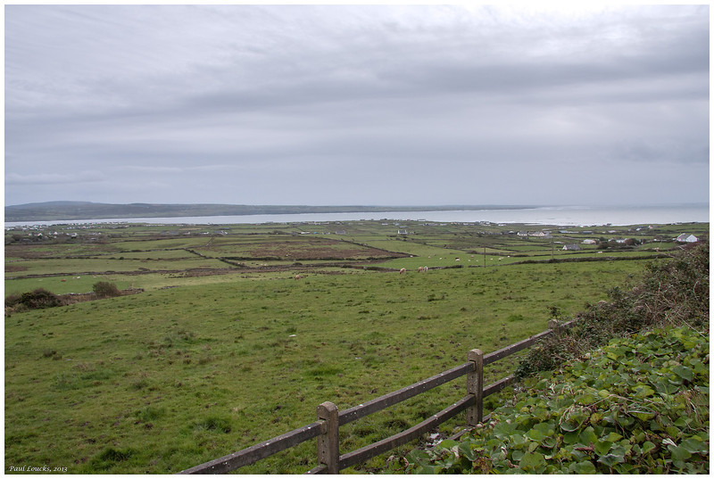 View from Liscannor southwest to the River Shannon and the sea.