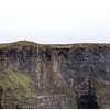 Lislorkin Cliff on the south side showing the top of a sea cave.