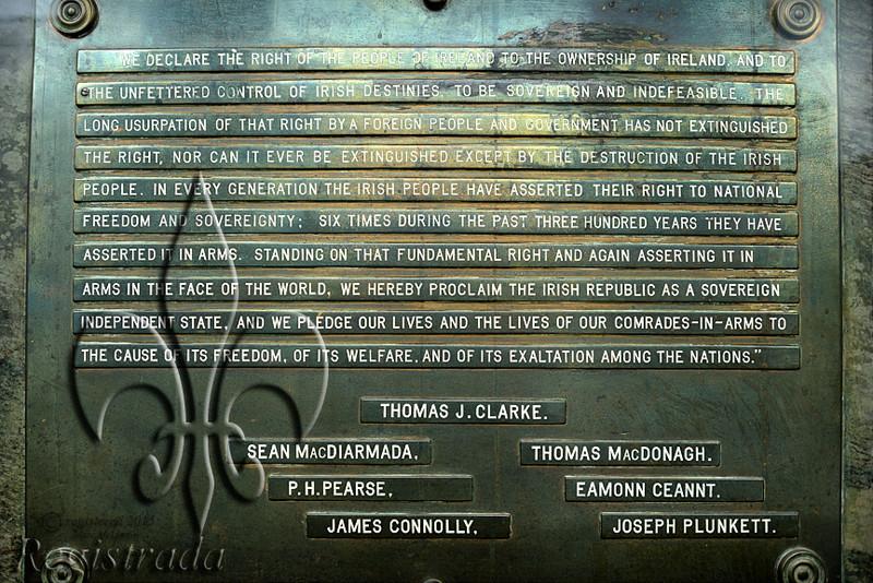 Easter Proclamation, GPO, Dublin