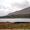 Lakes and mountains in the Connemara.