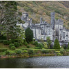 Finding the perfect vantage point at Kylemore Abbey...