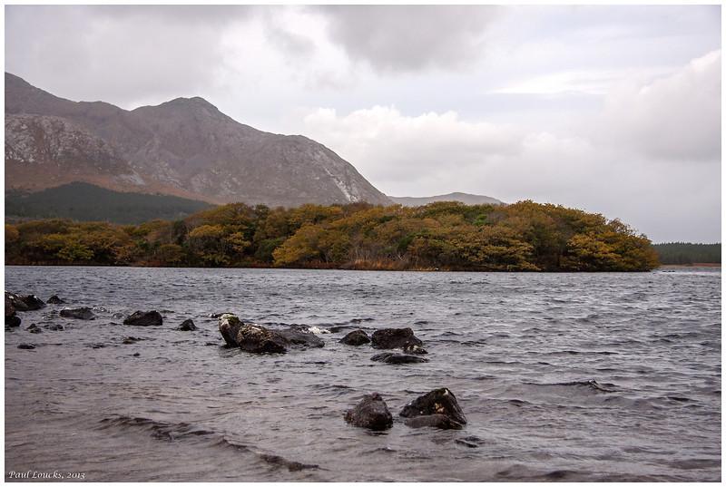 Lough in the Connemara.