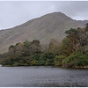 Kylemore Lough from the trail to the chapel.