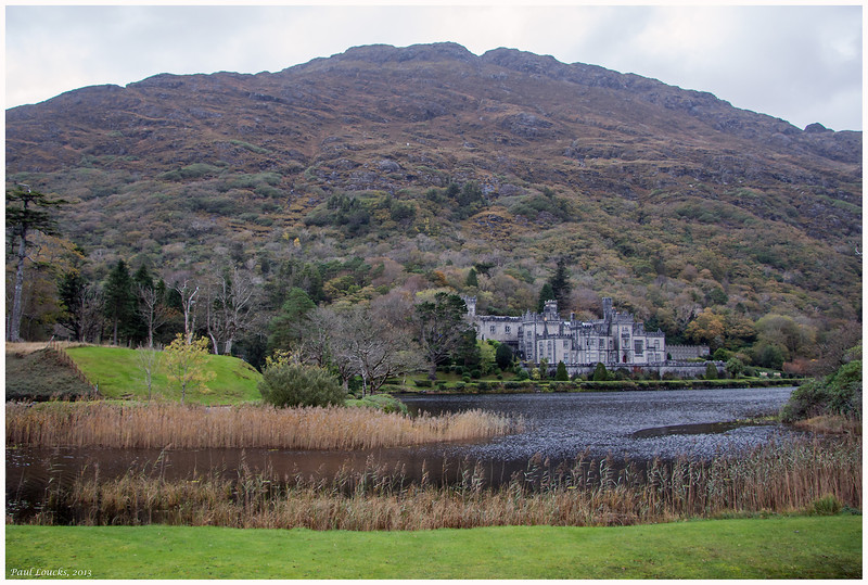 First of many views of Kylemore Abbey.