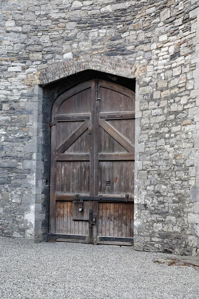 Door, Kilmainham Gaol