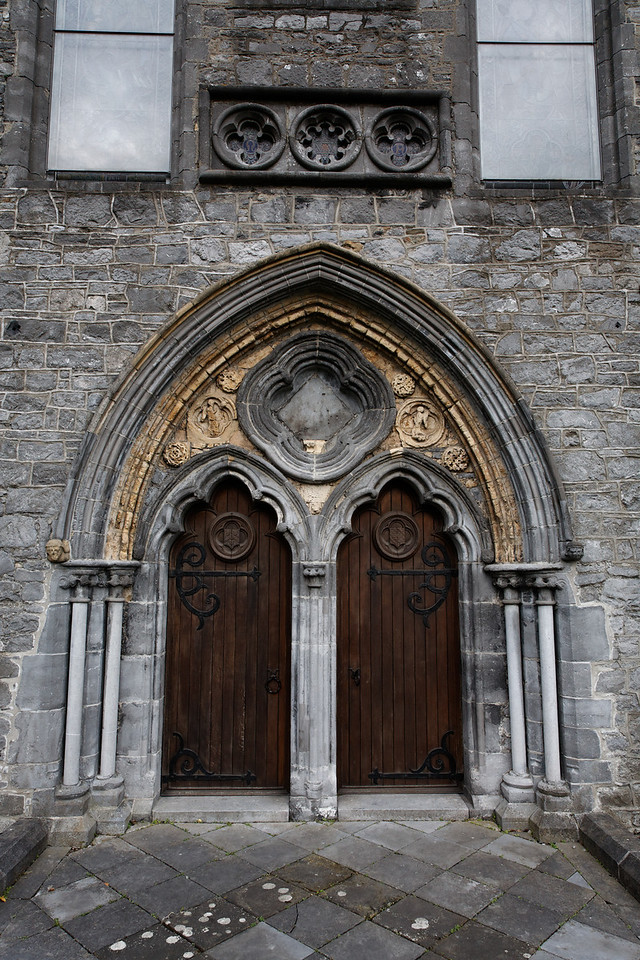 Door to Black Abbey, Kilkenny