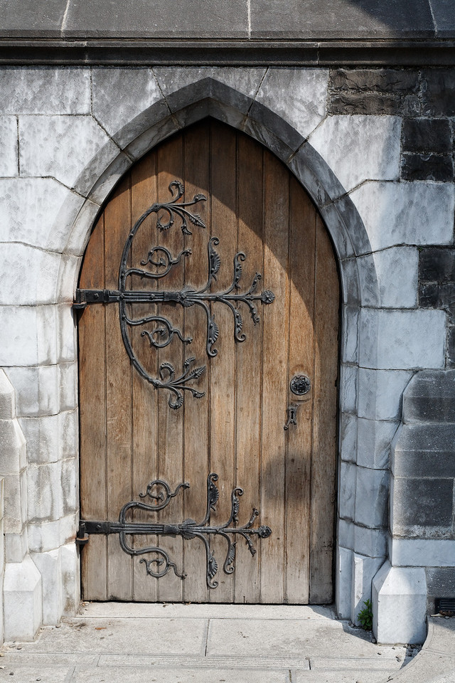 Door, Christchurch Cathedral