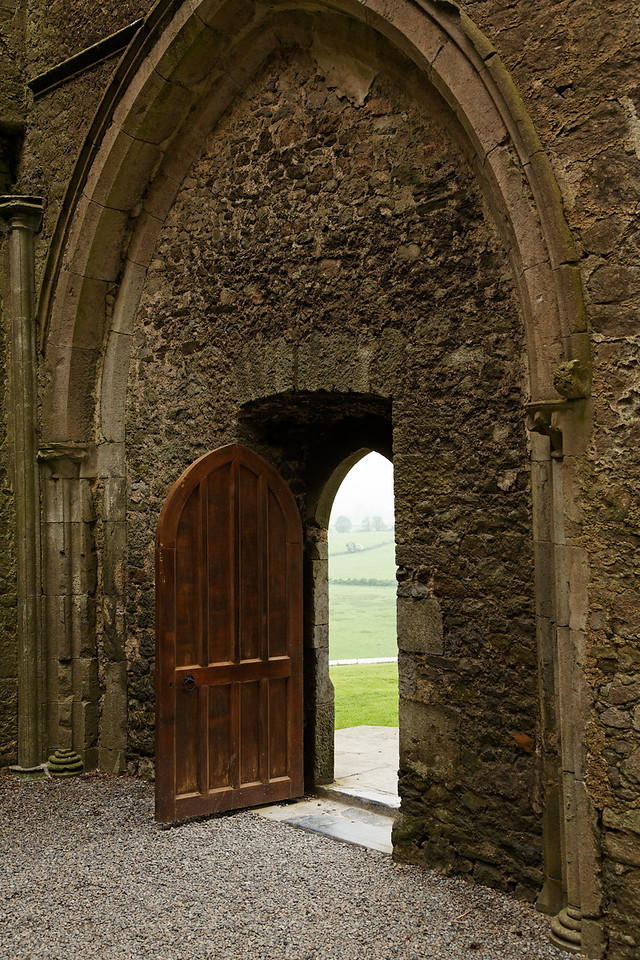 Door, Rock of Cashel