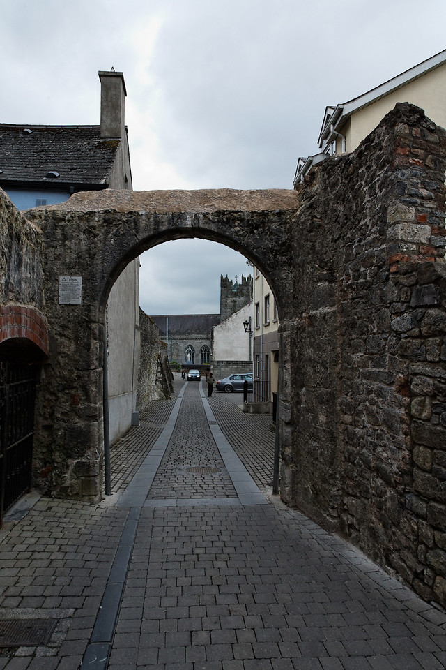 Arch in town wall, Kilkenny