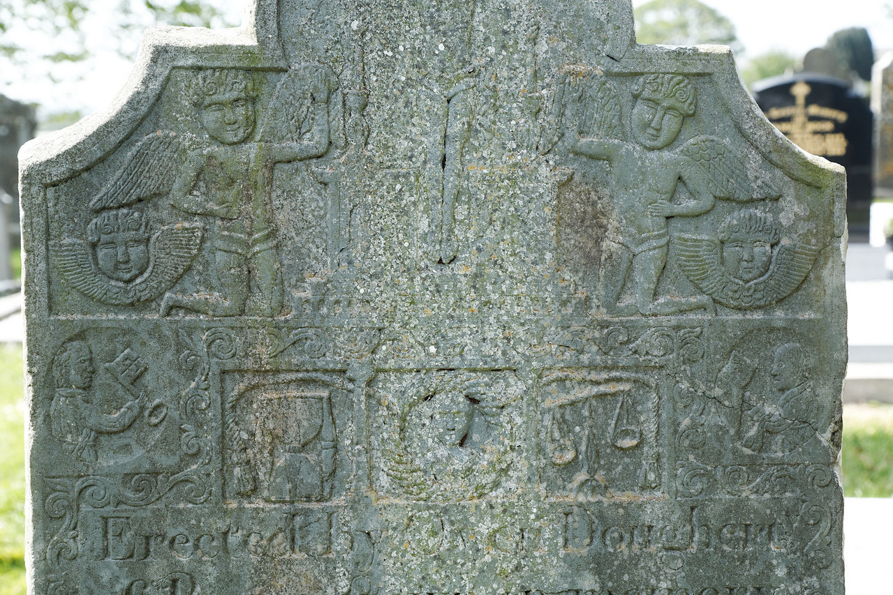 Tombstone detail, Monasterboice