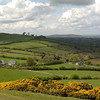 View from Loughcrew Megalithic tomb, Co. Meath