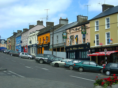 Street view from New Square, Mitchelstown.