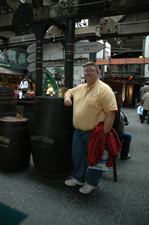 Rich at Old Jameson Distillery