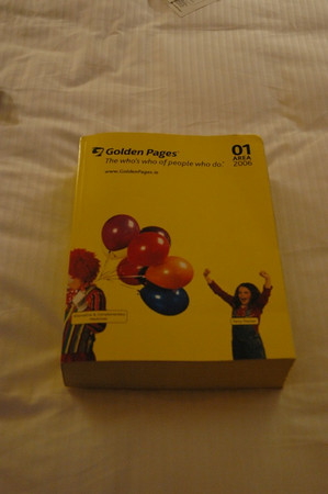 The GOLDEN PAGES.
