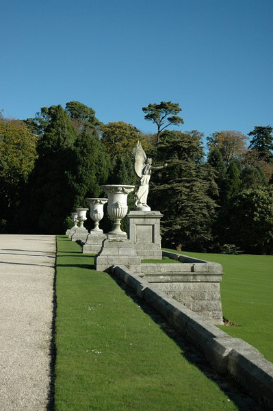 Powerscourt Gardens.  WOW!
