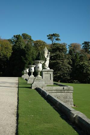 Powerscourt Gardens.  WOW!