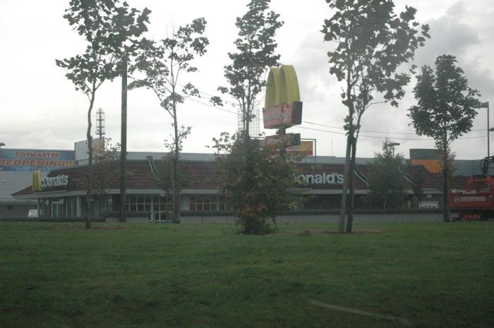 Look!  McDonald's!
