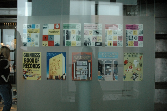 Guinness Book of Records display