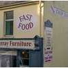 Chip-bar nestled beside the local furniture store in Macroom.