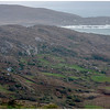 From a height of land along the Ring of Kerry. Valentia Island in the distance.