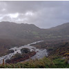 A mountain stream near Glenbeigh on a rainy morning along the An Mhor Chuaird or Ring of Kerry