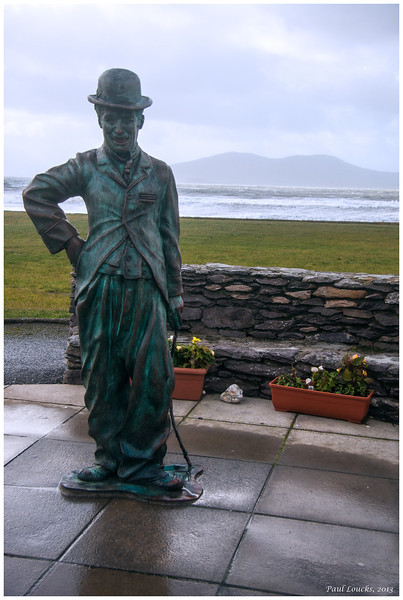 Coastal town of Waterville, honored during the height of Charlie Chaplin's career as his personal summer vacation retreat.